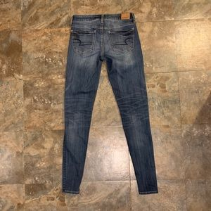 American Eagle AE Stretch size 4 X-Long Jegging